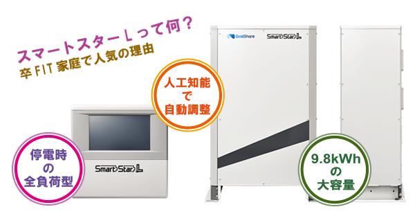 沖縄で家庭用蓄電池☆スマートスターLが人気!5つの理由
